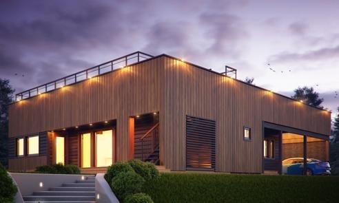 Prefab houtskelet huis loghuis casco of zelf op te bouwen for Zelf woning bouwen prijzen